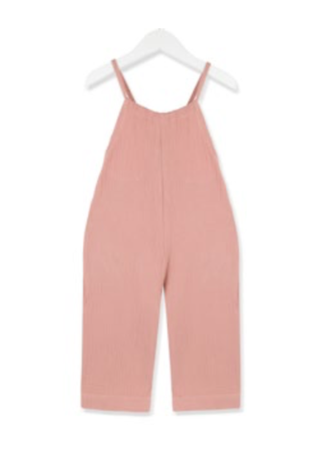 Coral Cloud Jumpsuit
