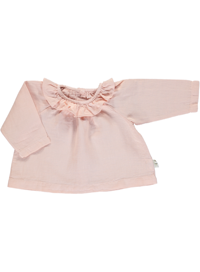 blouse charme Linen evening sand