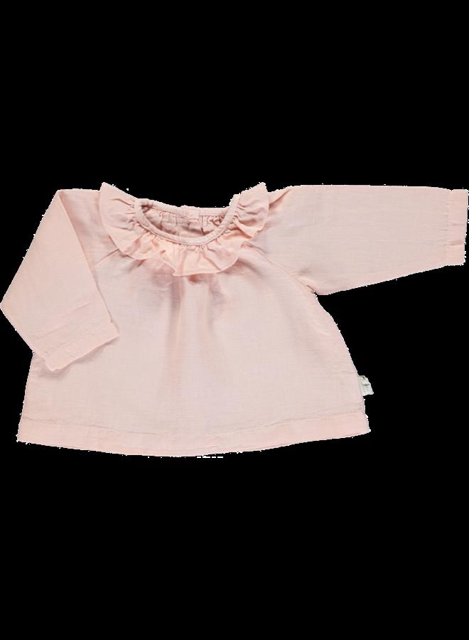 blouse charme linen evening sand