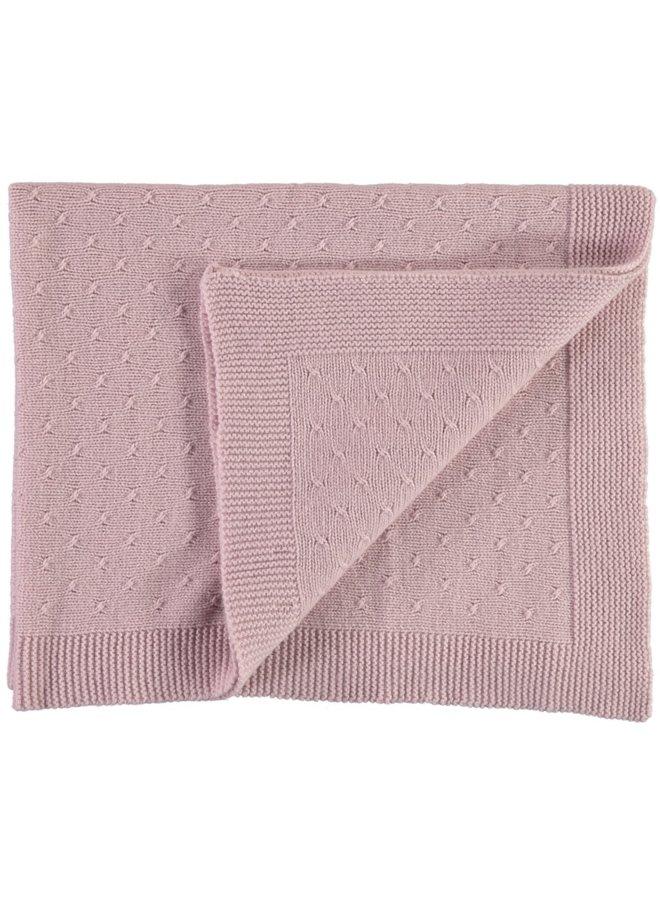 Vintage Pink Cashmere Blanket