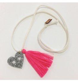 Atsuyo et Akiko Heart neon pink -A&A