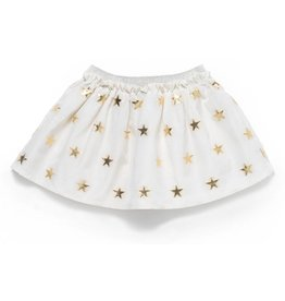 Gold Skirt -Gold