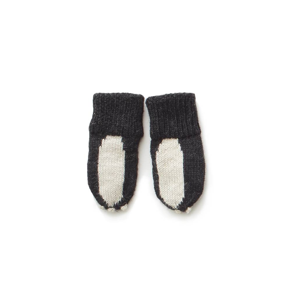 Oeuf Skunk mittens-Oeuf