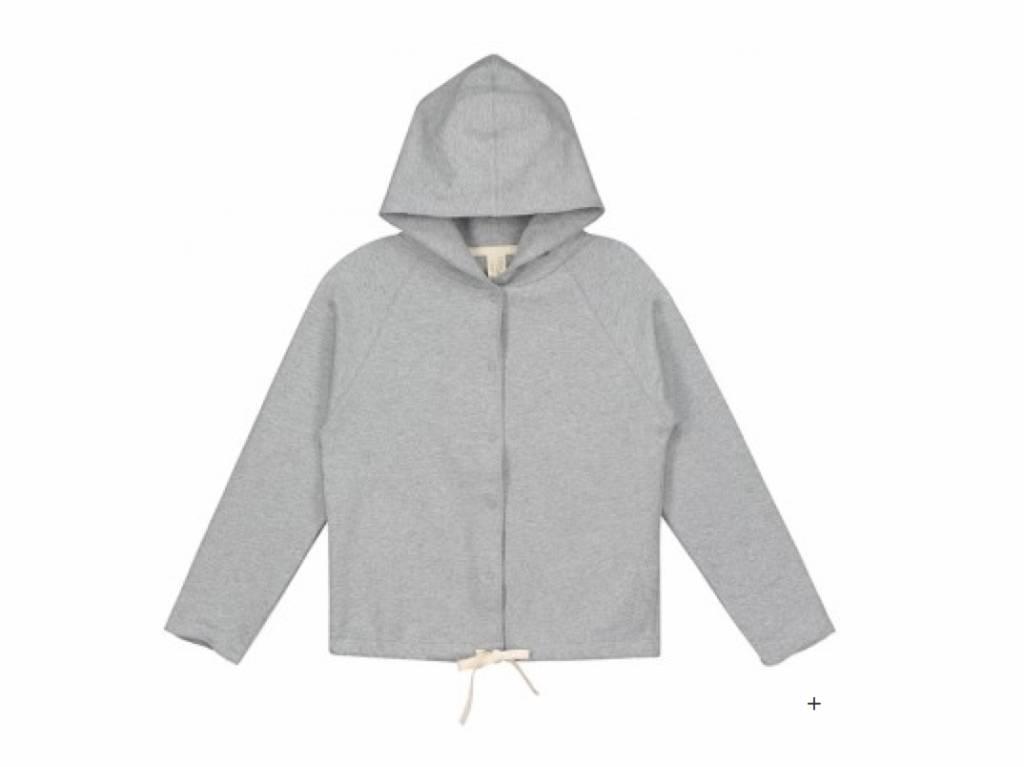 Gray Label Grey Hooded Cardigan