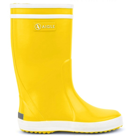 AIGLE Yellow Rainboot