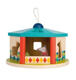 Moulin Roty House shape sorter