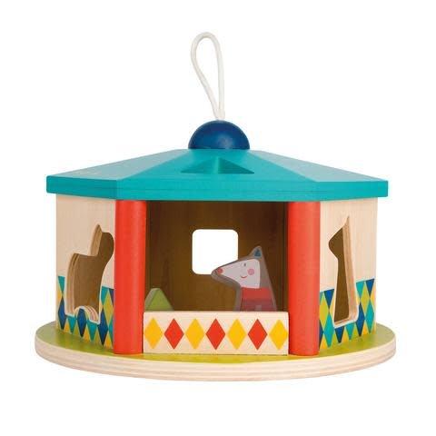 Moulin Roty House shape sorter
