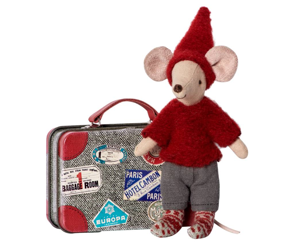 Maileg Pixy Mouse and Suitcase
