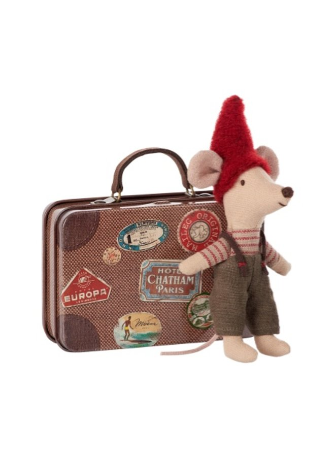 Christmas Mouse Suitcase