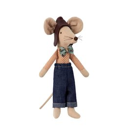 Maileg Hat Racer Dad Mouse