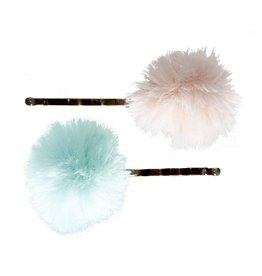 Maileg Powder/Mint Bobby Pins