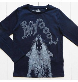 Lion of leissure Blue wolf longsleeve