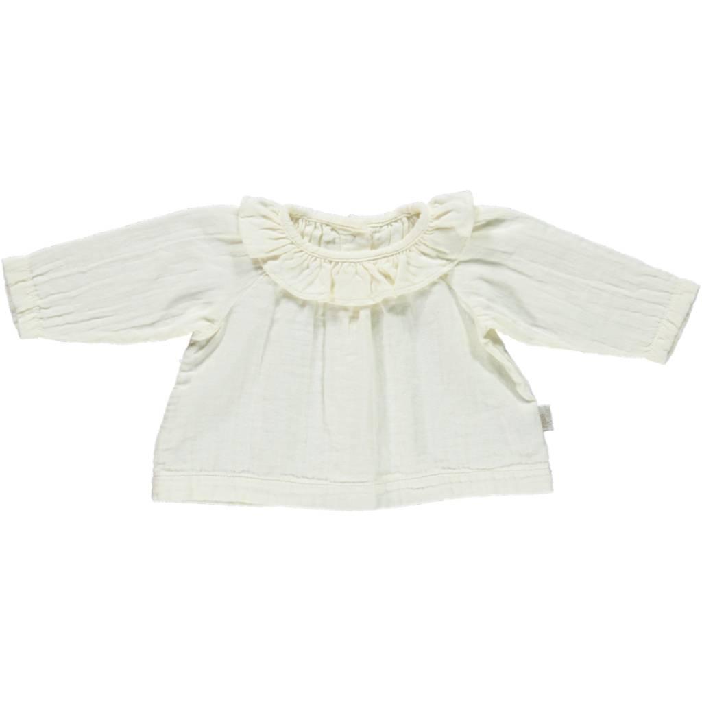 Poudre Organic Milk blouse charm