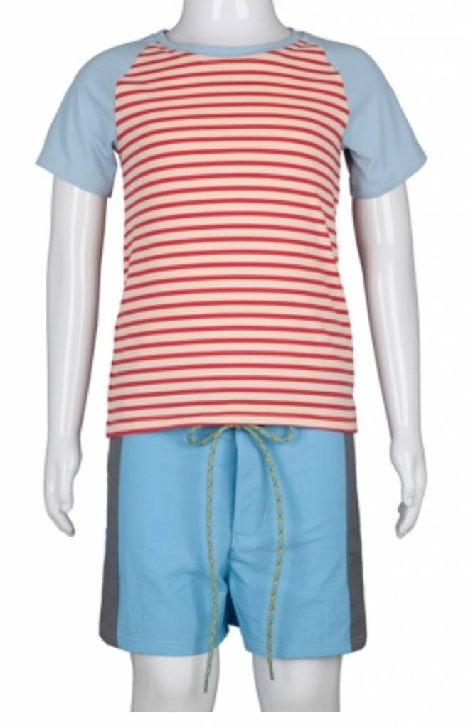 Pacific Rainbow Axel Stripes Red