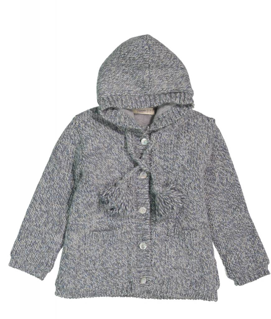 Mademoiselle à Soho Little coat grey chine