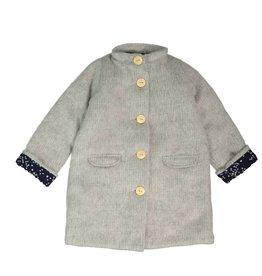 Mademoiselle à Soho Grey girl coat