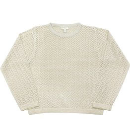 Moon et Miel Sweater rosie winter white
