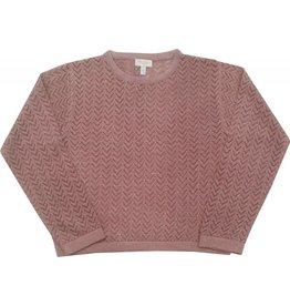 Moon et Miel Sweater rosie dark blush
