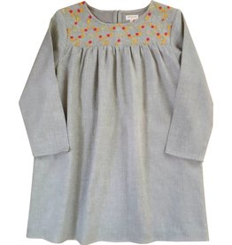 Moon et Miel Sasha dress silver cloud