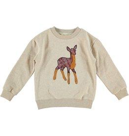 Anne Kurris Sweatshirt girl Bambi cream