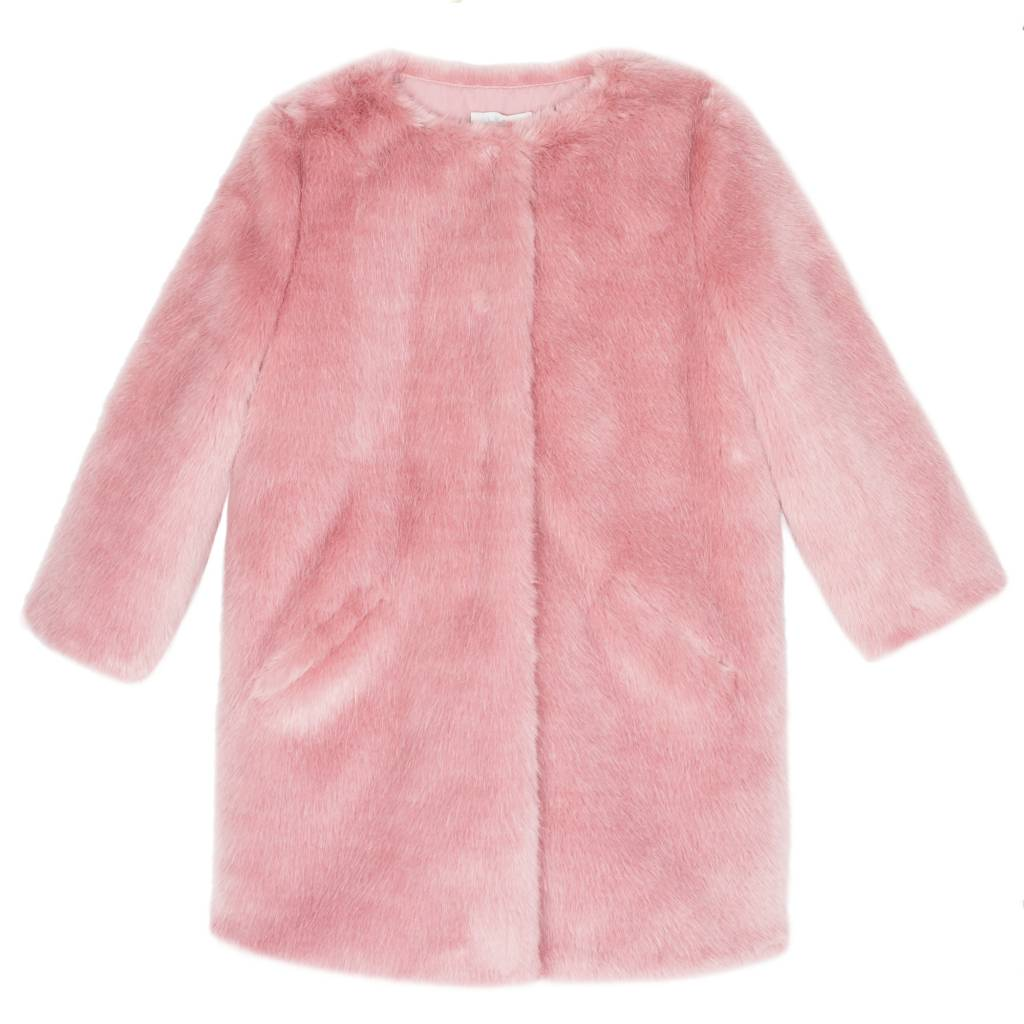 Wild & Gorgeous Leli Coat - Dusty Pink
