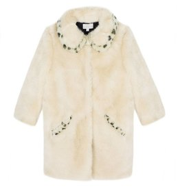 Wild & Gorgeous Leopard Love Coat - Cream