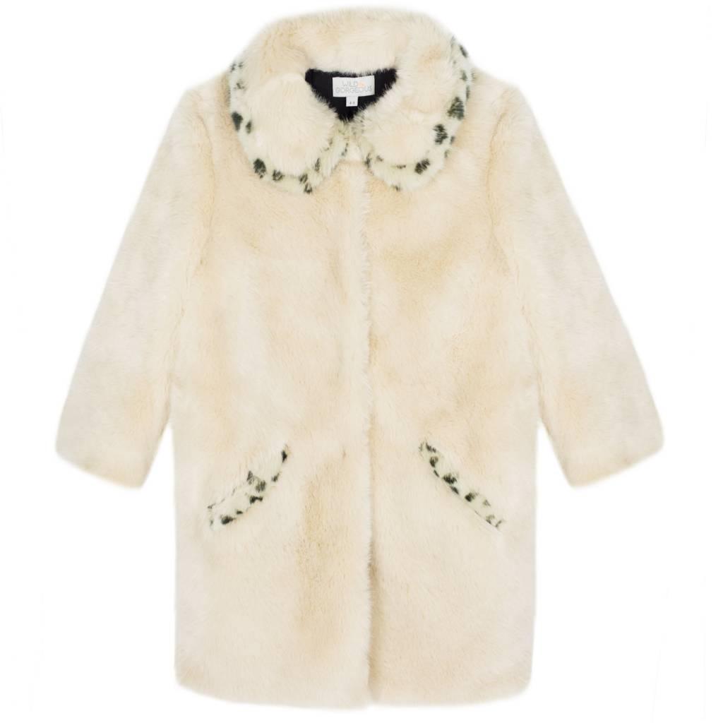 Wild & Gorgeous Leopard Love Coat - Cream