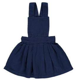 Poudre Organic Pinafore IRIS Medieval Blue
