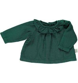 Poudre Organic Blouse baby CHARME Bistro Green