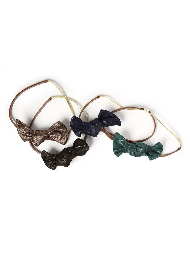 Bonbon headband bronze