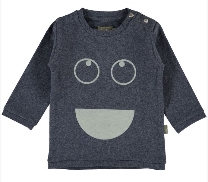 Kids Case Sam blue baby tee