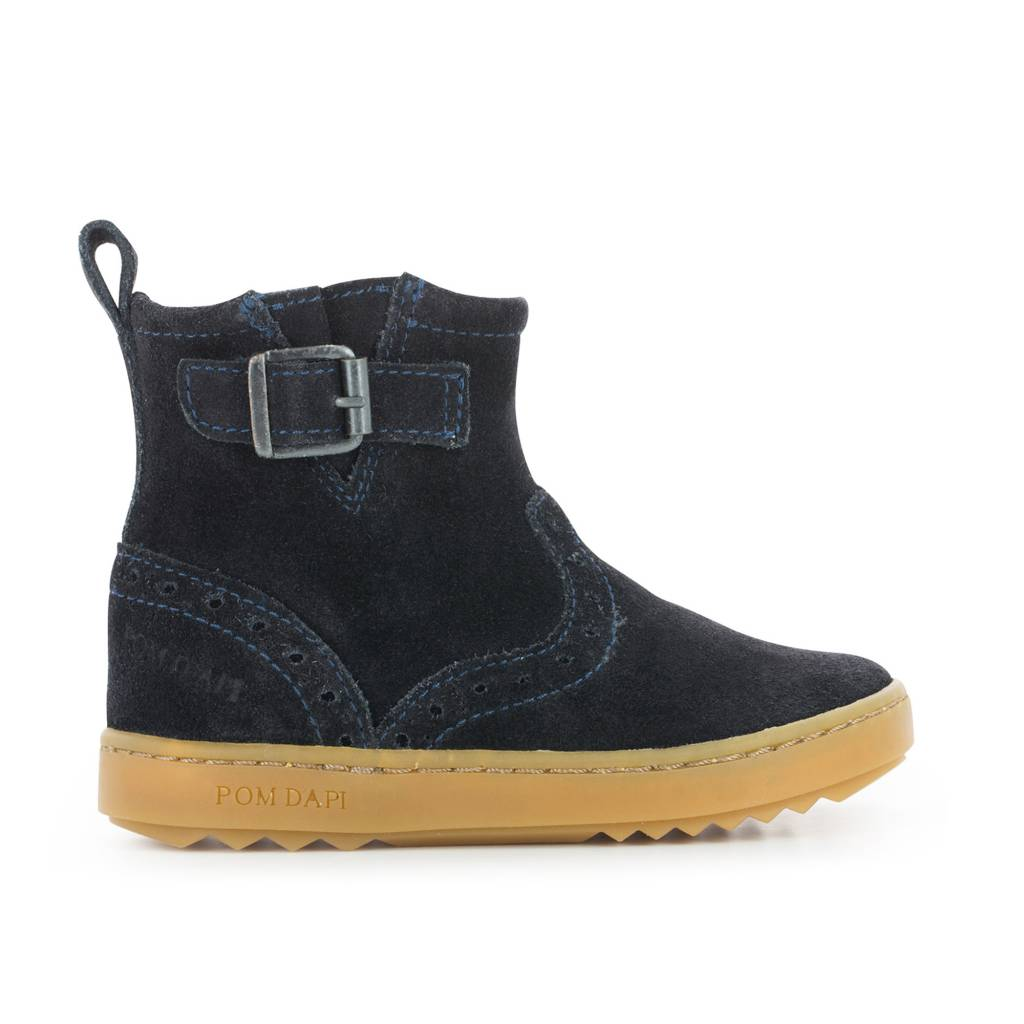 Pom d'Api Wouf Boots Navy