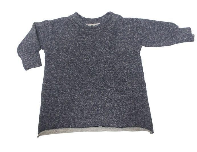 Go Gently Baby Indigo Hemp Dress