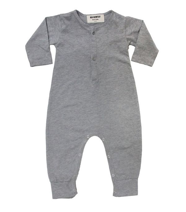 Go Gently Baby Gray Playsuit