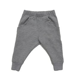 Go Gently Gray Raw Pocket Pant