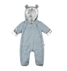 Red Caribou Padded Blue Bear Suit