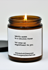 Zach Whitman Quote Candles