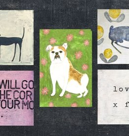 Sugarboo & Co. Sugarboo 4x6 Art Collection Postcard (25 in a Book)