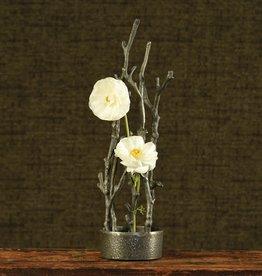 HomArt Sculptural Branch Vase Round
