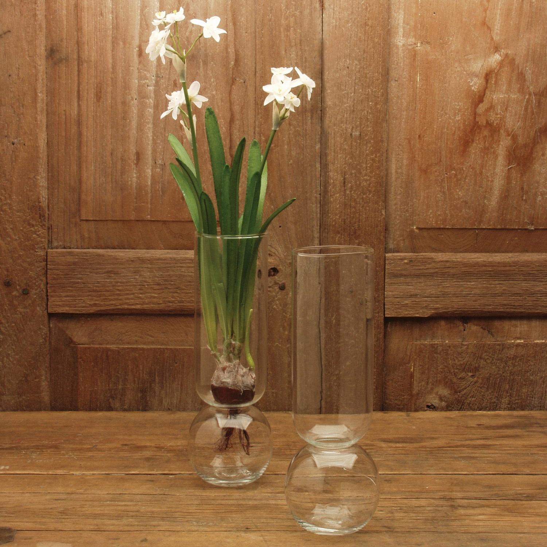 HomArt Bulb Vase Tall 11.2h x 4w