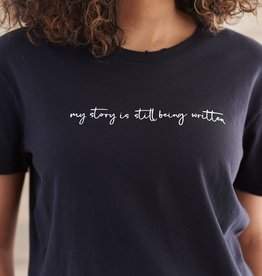 Know Purpose My Story Is Still Being Written Crew Tee