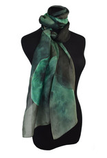 Overlapping Circle Scarf Green