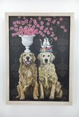 Golden Couple - 5x7 Mini Framed Art