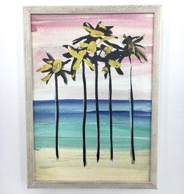 Art Palms - 5x7 Mini Framed Art