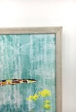 Green Sea Turtle - 7x5  Mini Framed Art