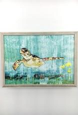 Greenbox Art Green Sea Turtle