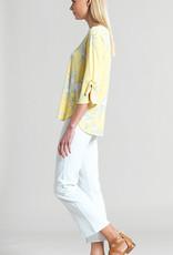 Clara Sun Woo Clara S Floral Scoop Tie Top