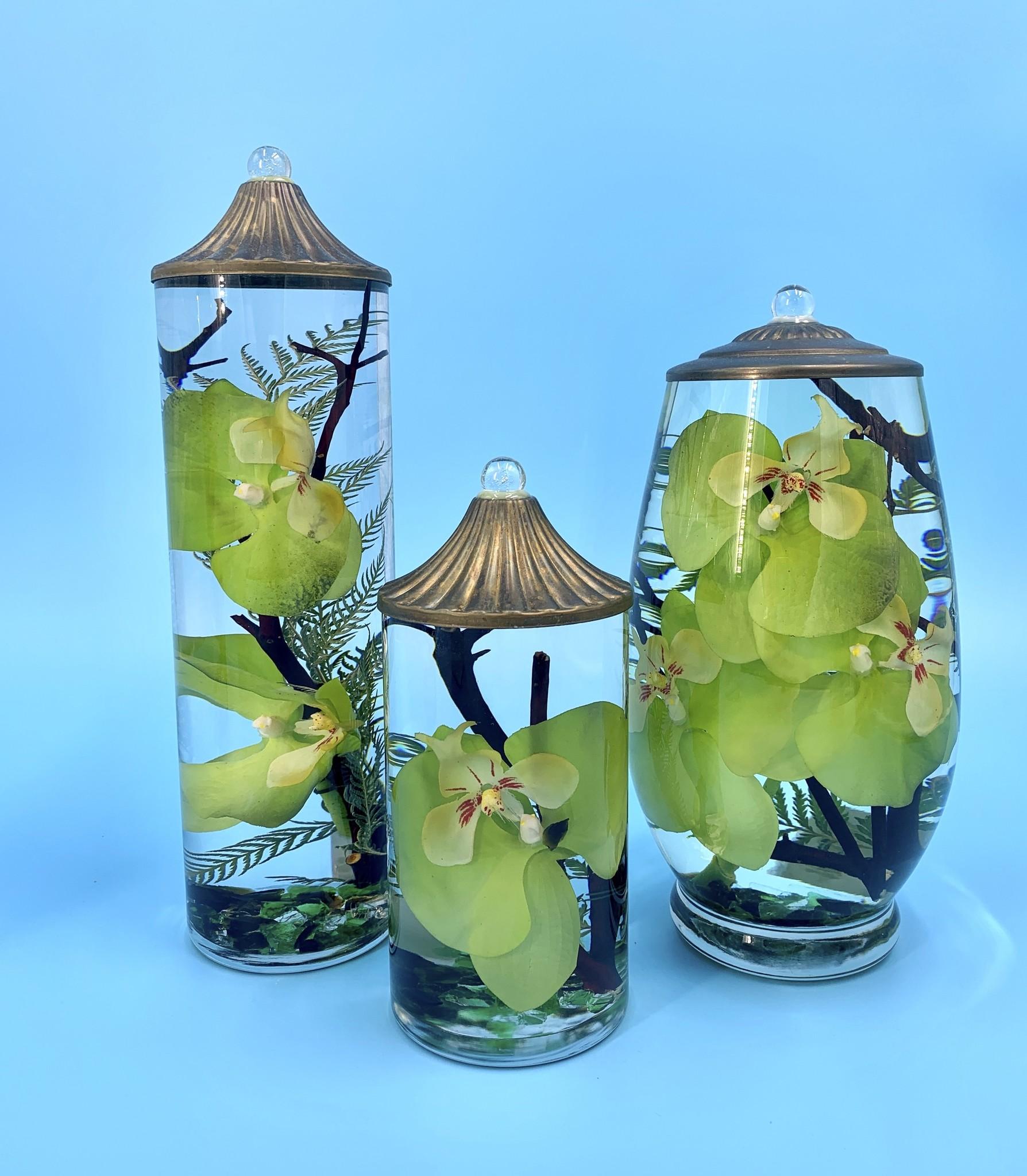Lifetime Candles Brandy Vase