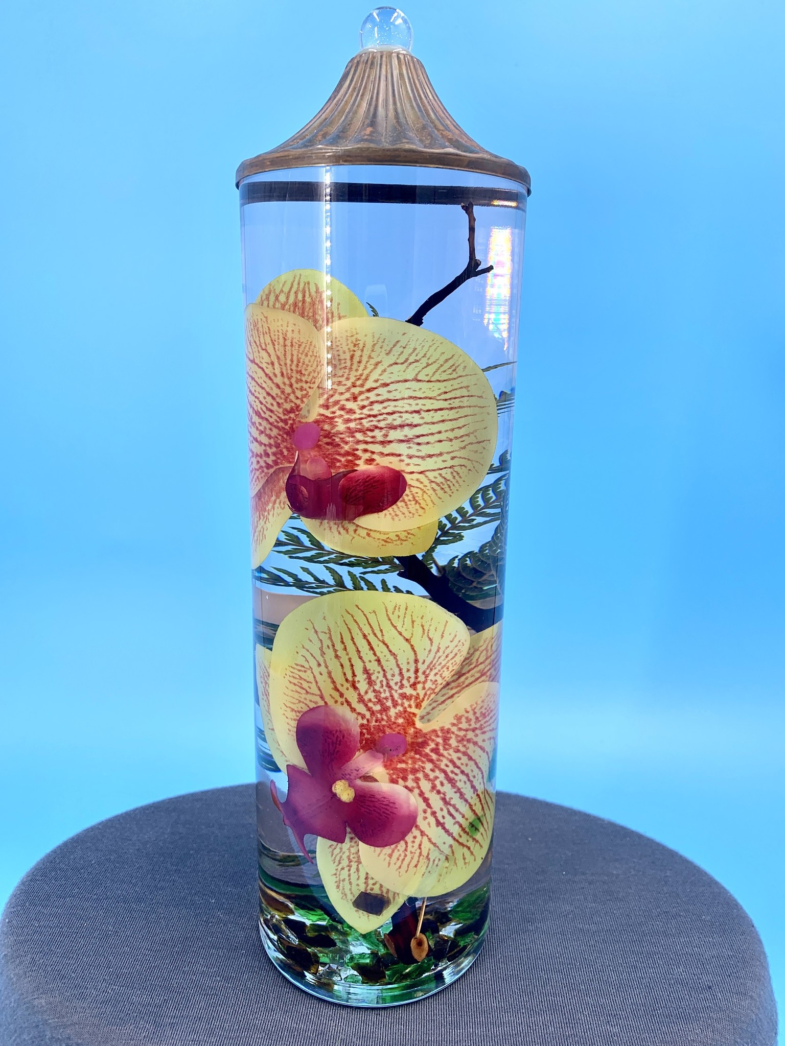 Lifetime Candles Tall Cylinder