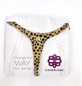 Cambiami Sandal Strap Animal Print